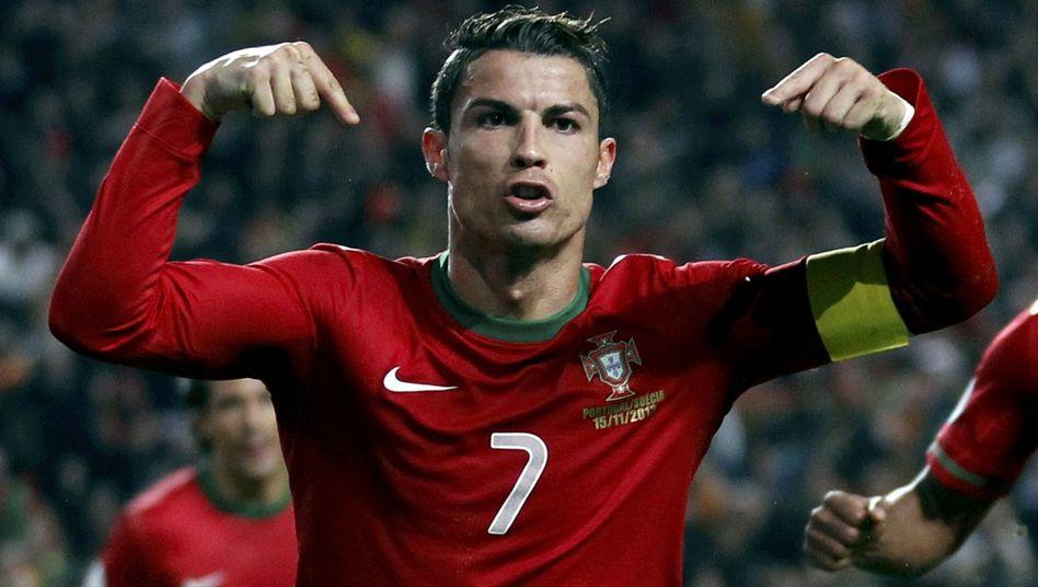 Portugals Superstar Ronaldo: Siegtreffer gegen Schweden