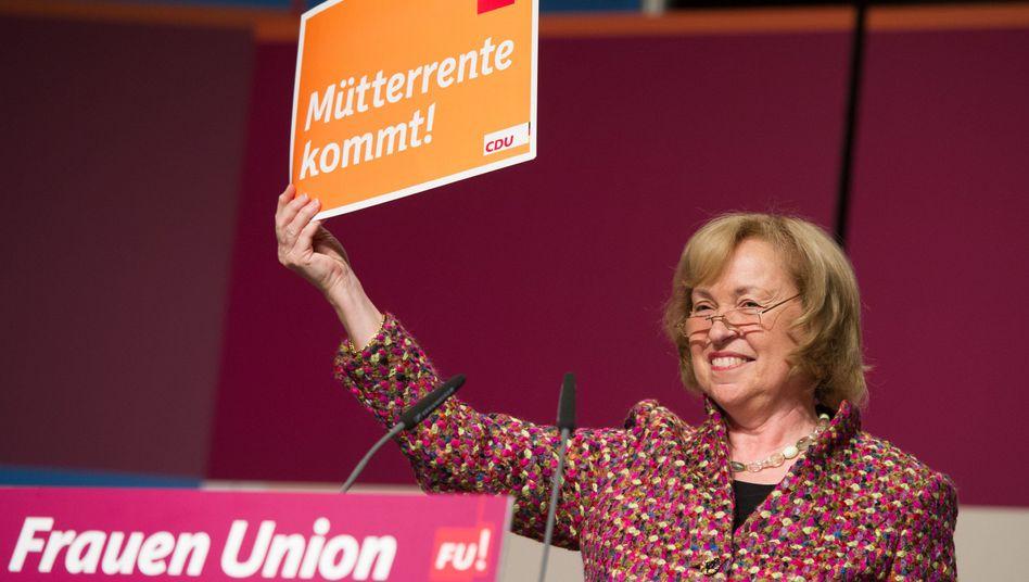 Maria Böhmer, Vorsitzende der Frauen-Union (Archiv): Steckenpferd Mütterrente