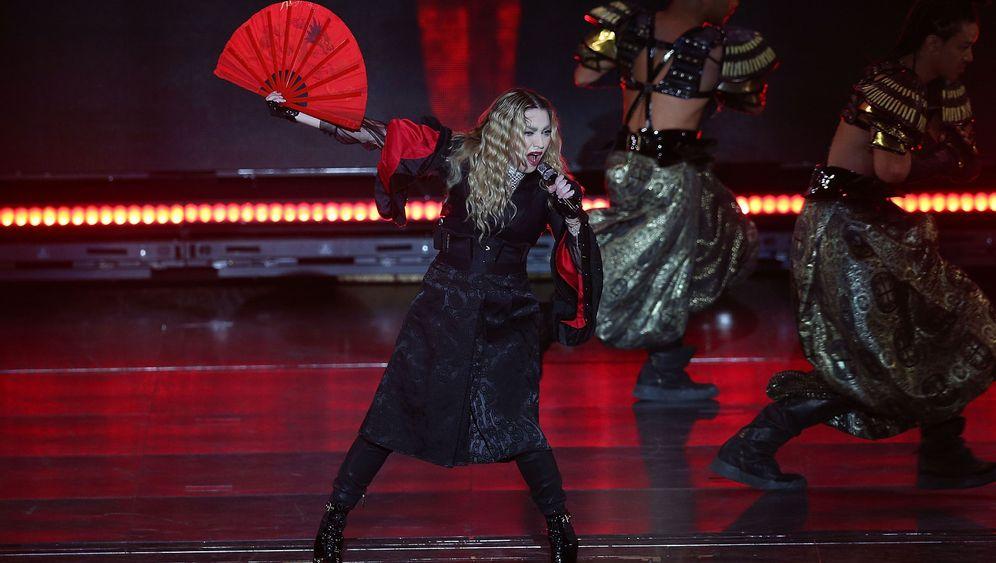 Ausfälle auf der Bühne: Madonnas Make-up-Tipps