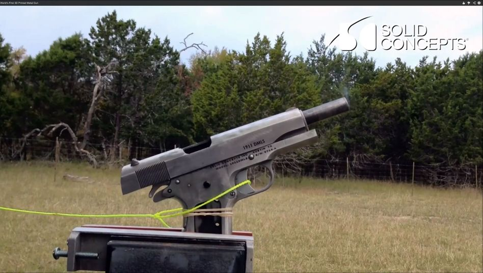 3 D Drucker Texanische Firme Druckt Metall Waffe Mit Laser