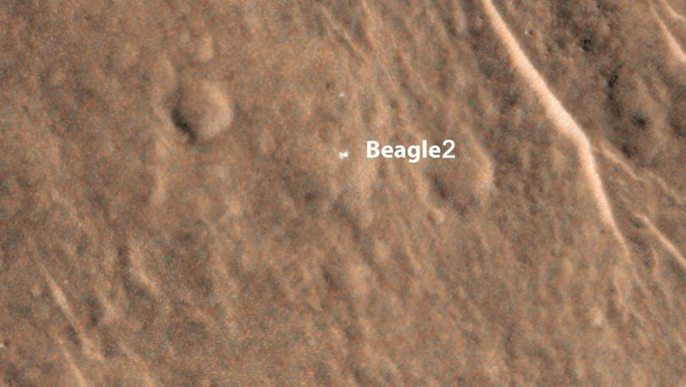 """Verunglückte Mars-Mission: Was wurde aus """"Beagle 2""""?"""