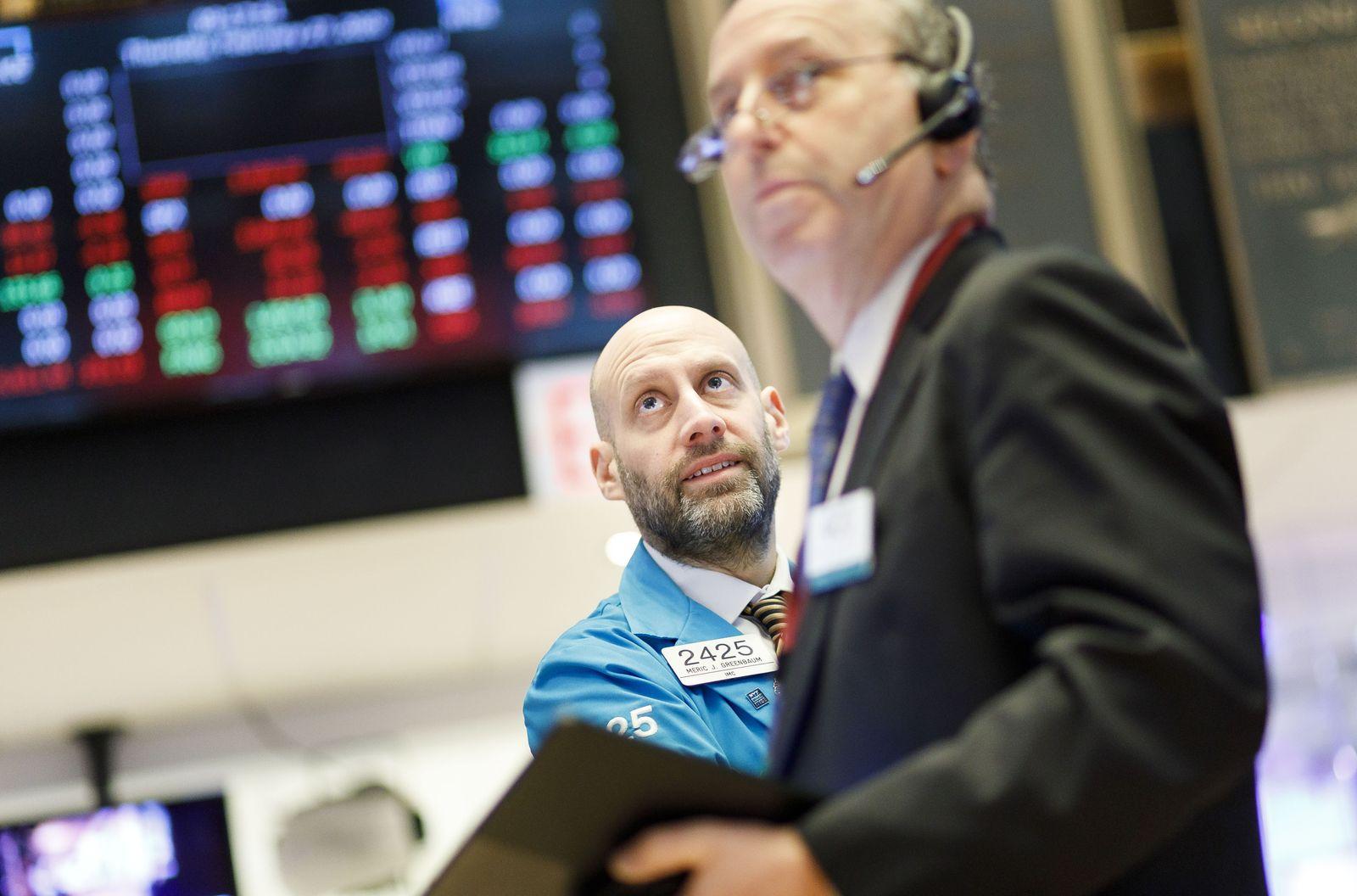 New York Stock Exchange Coronaviurus reaction, USA - 27 Feb 2020