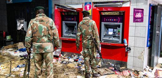 Südafrika: Zehntausende Geschäfte von Krawallen betroffen – Hunderte Millionen Euro Schaden