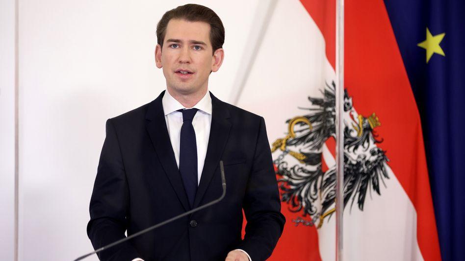 Österreichs Kanzler Kurz: »Treffen sie ab dem 26. Dezember wieder niemanden«
