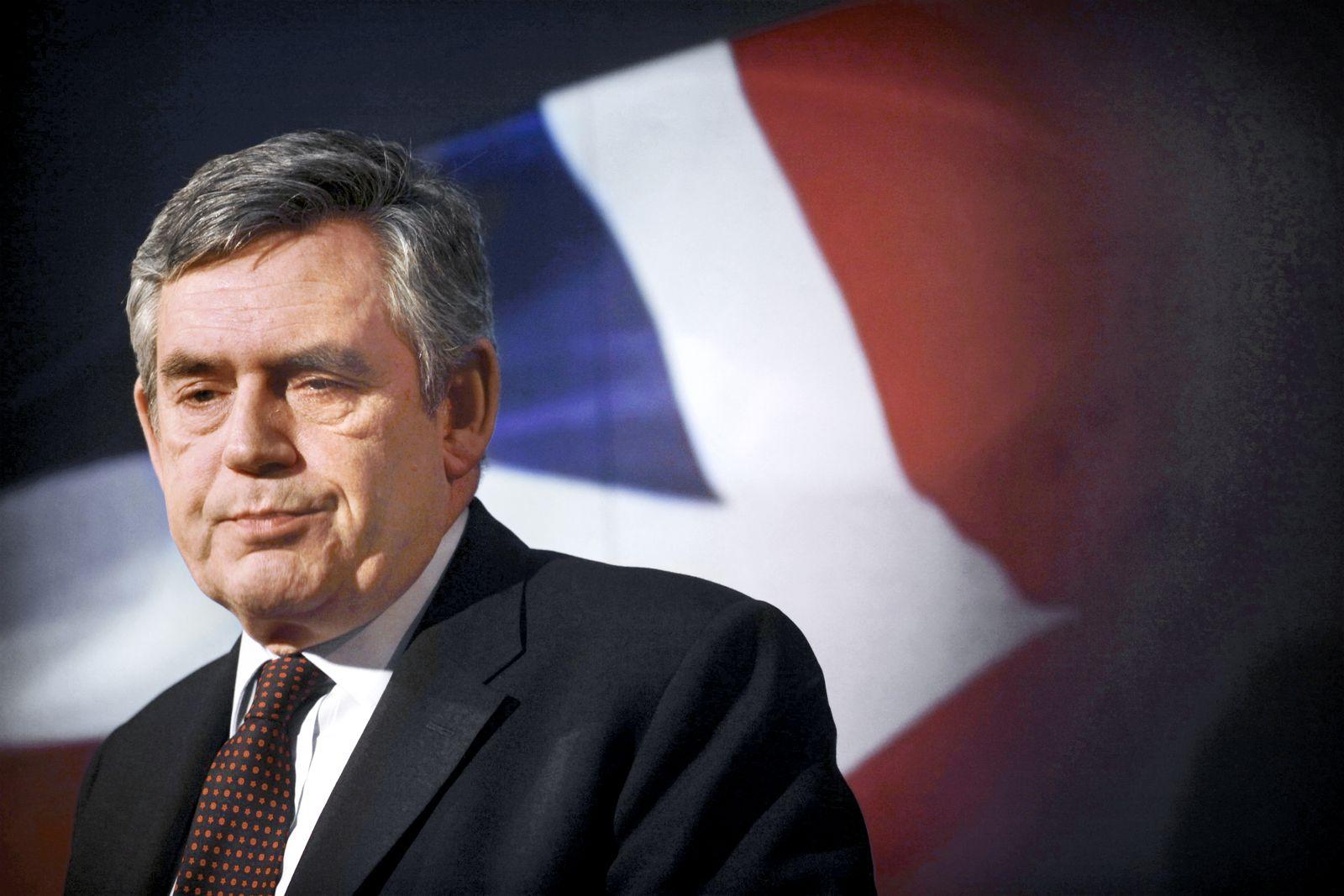 Regierungschef Brown / Schulden Grossbritanien