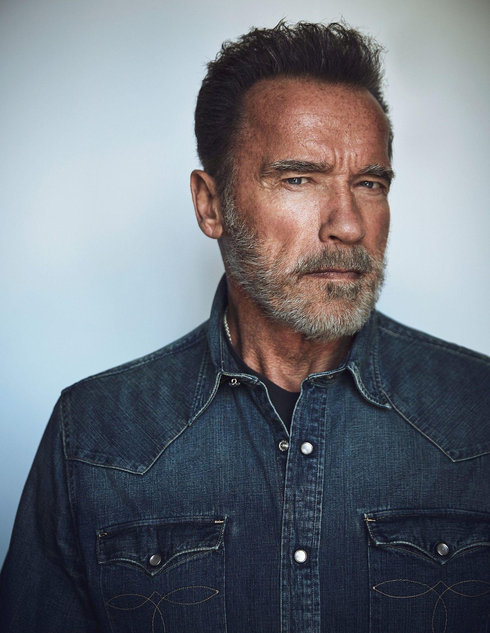 EINMALIGE VERWENDUNG Arnold Schwarzenegger/ Terminator - Dark Fate