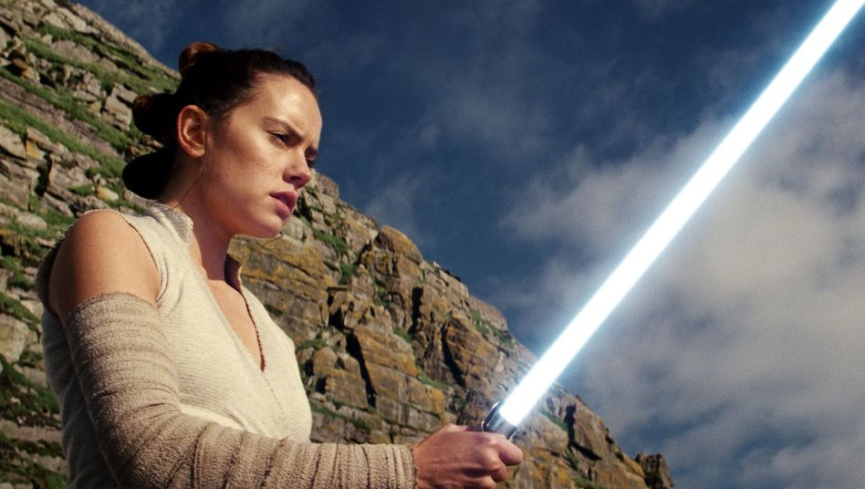 "Daisy Ridley als Rey in ""Star Wars"""