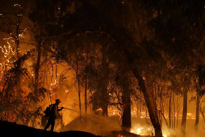 """Are wildfires like this one in California the new normal? Scientists are describing an """"existential threat to civilization."""""""
