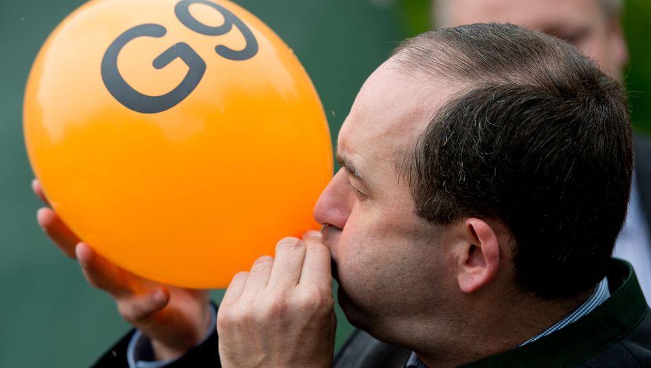 Proteste für die Rückkehr zu G9 (Archivbild)