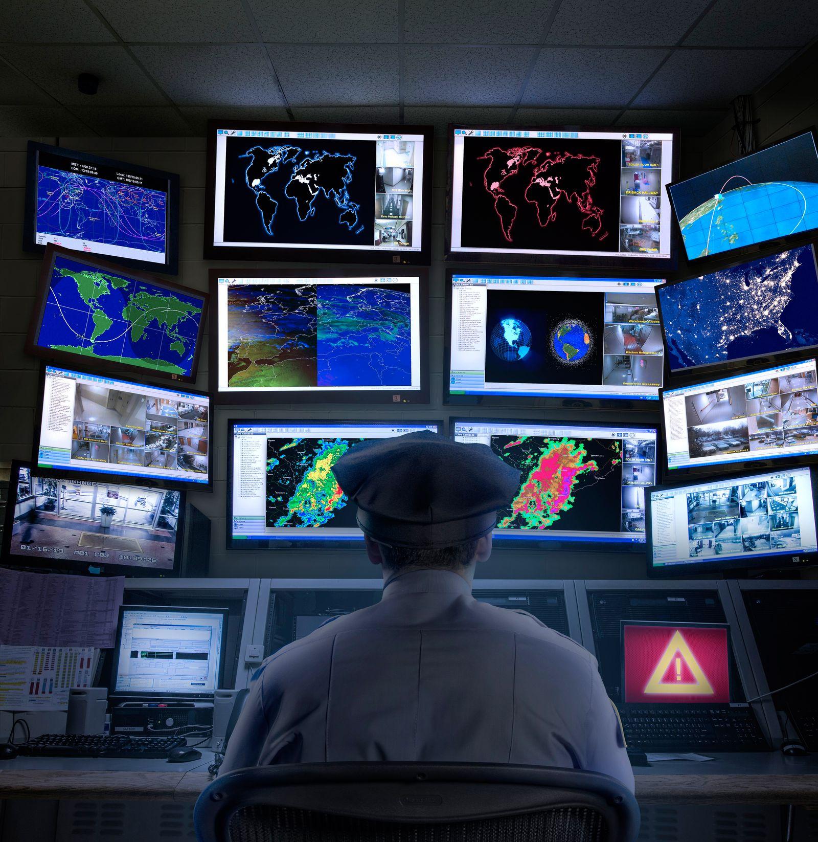 NICHT MEHR VERWENDEN! - Symbolbild Überwachung/ Observation/ Big Brother