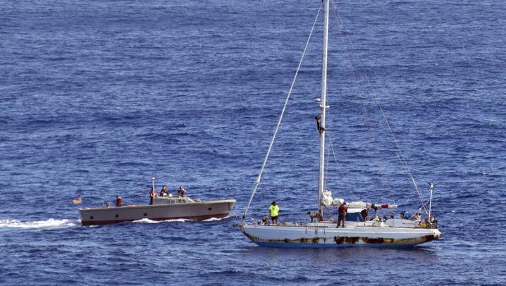 Pazifik: Rettung nach einer Irrfahrt