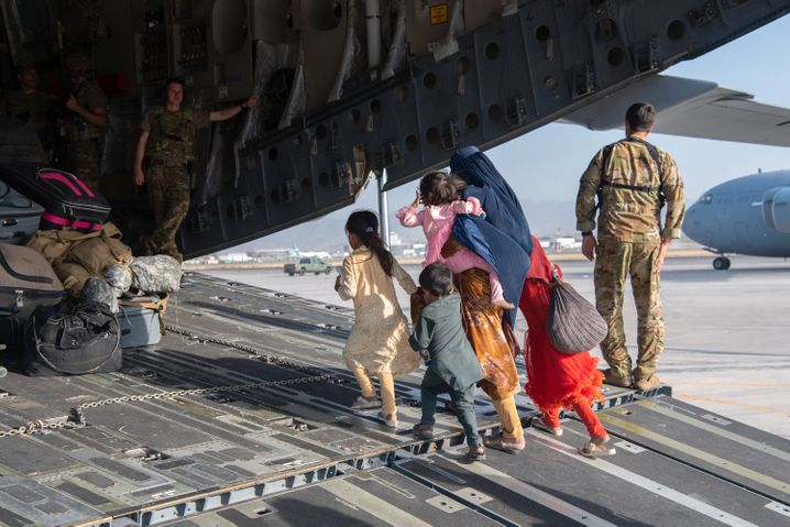 Flucht aus Afghanistan am 24. August 2021