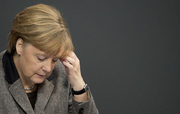 """Angela Merkel: """"Die Nachrichten machen mich tieftraurig"""""""