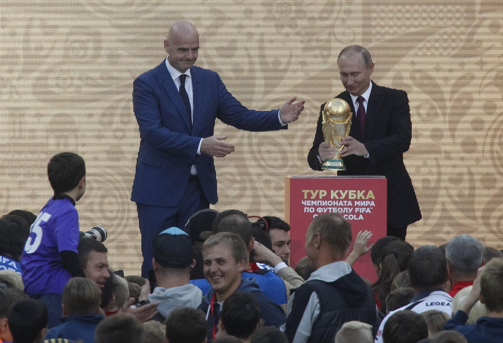 WM18/ Putin/ Sport/ FIFA