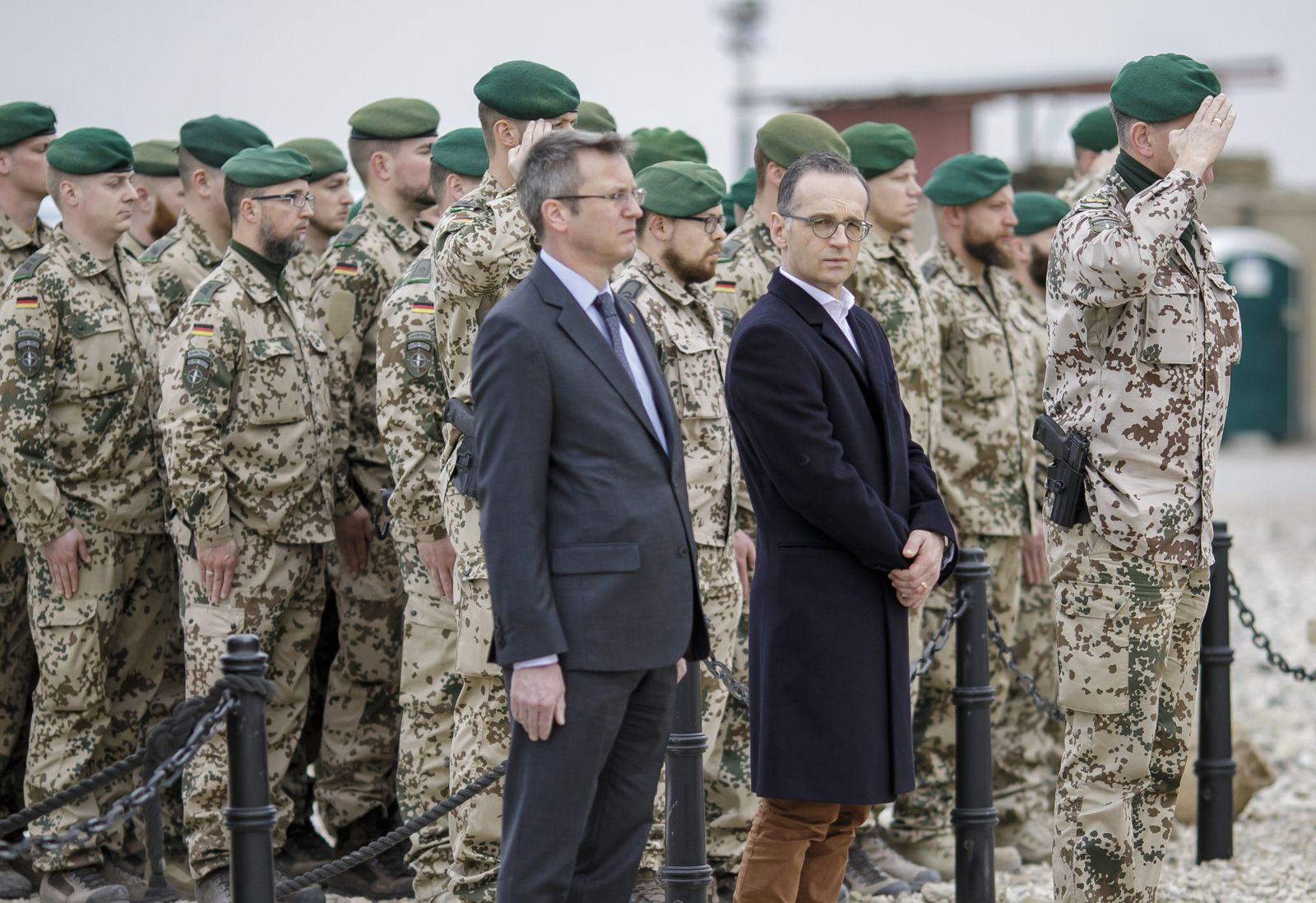 Außenminister Maas in Afghanistan