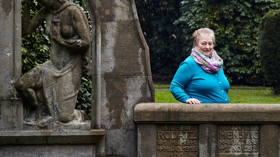 Hartung auf dem Friedhof Ohlsdorf