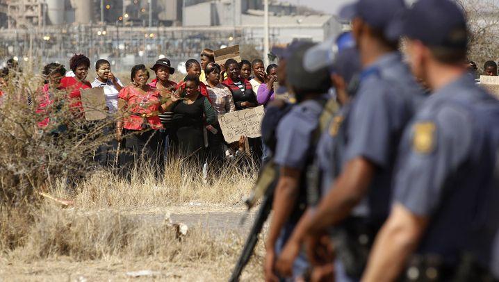 Südafrika: Proteste in Marikana