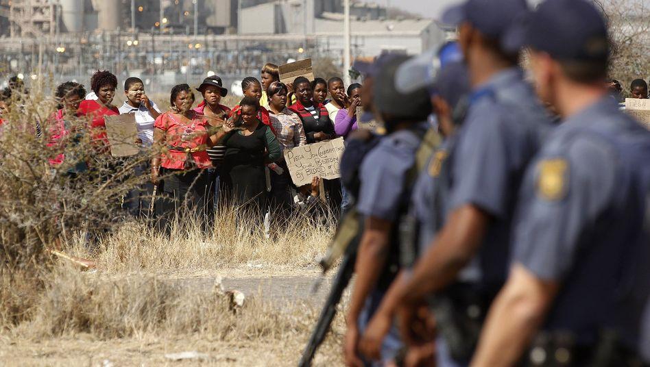 Massaker bei Streik in Südafrika: Die Schande von Marikana