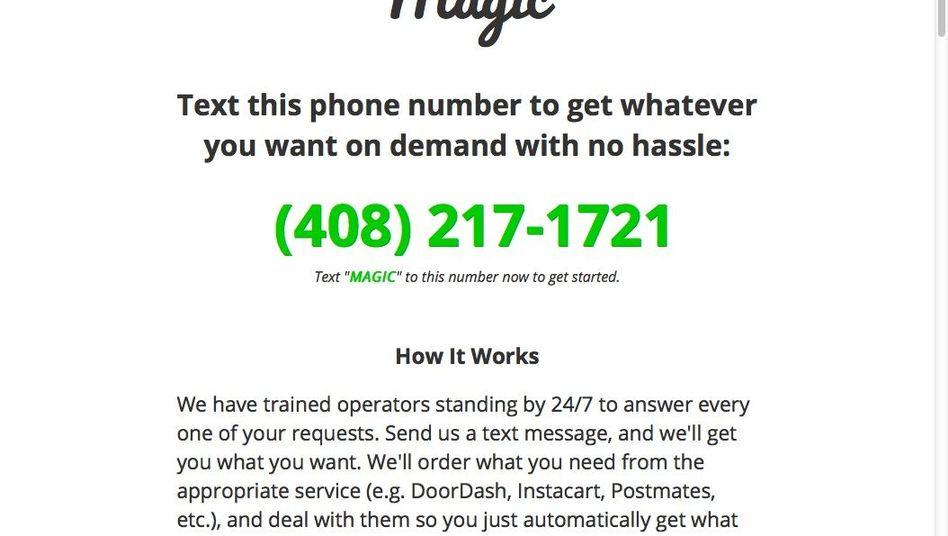 Magic-Werbung: 17.000 Nachrichten in 48 Stunden bekommen