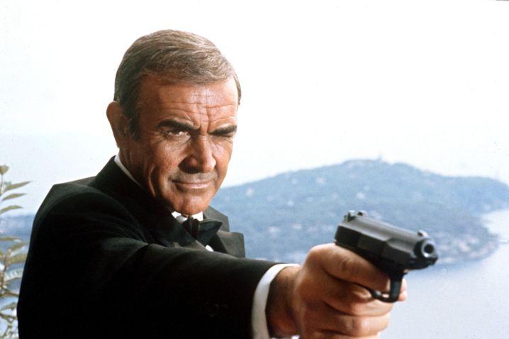 "Szene aus ""James Bond 007 – Sag niemals nie"""