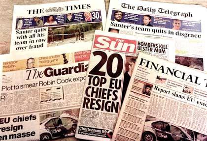 Zeitungen: Nichts ist älter als die von gestern?