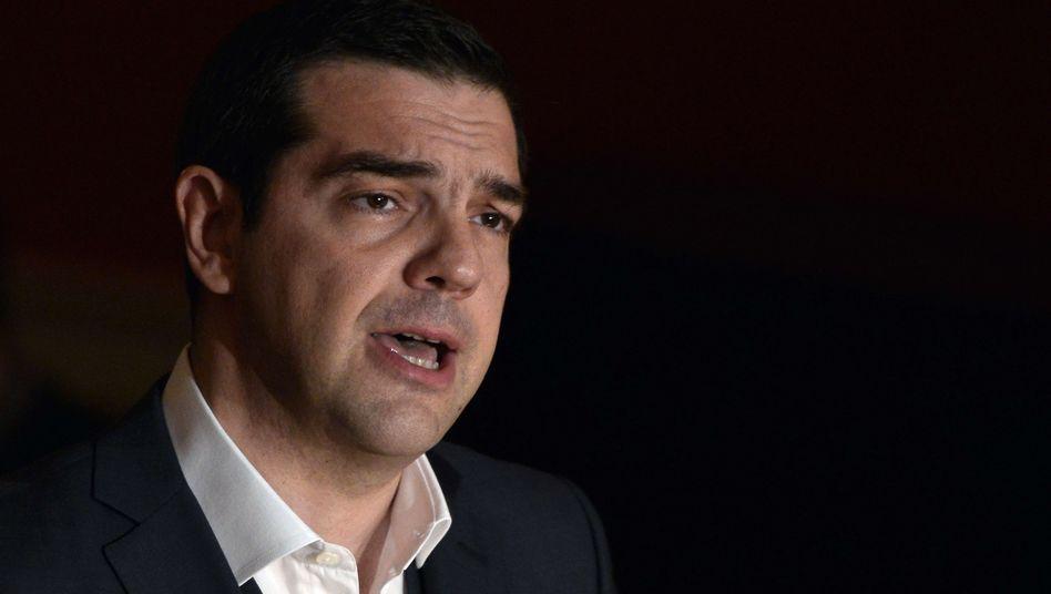Griechenlands Premier Tsipras: Hilfe aus Moskau?