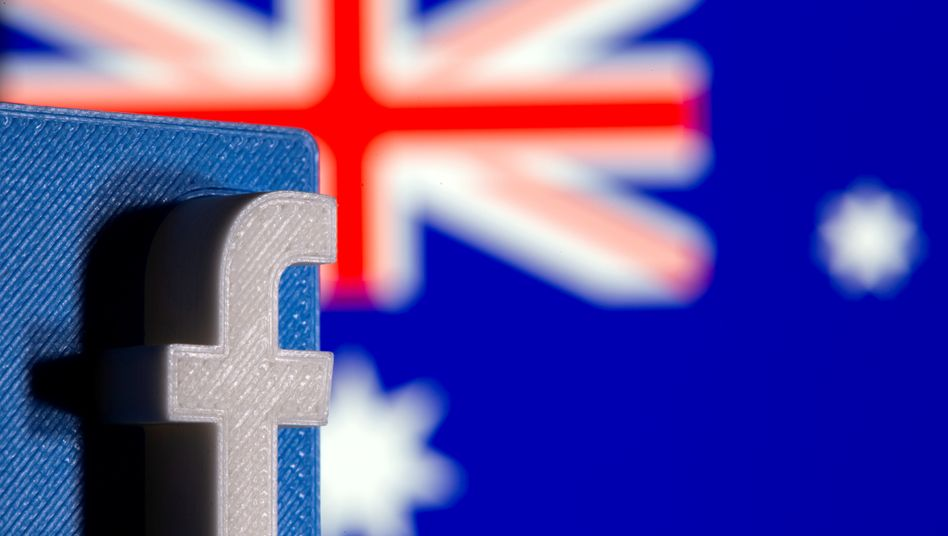 Facebook-Logo: Keine Nachrichten, keine Werbung