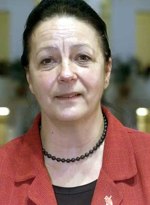 Berlins Justizsenatorin Karin Schubert (SPD) kann nach dem Ende der Friedmann-Affäre nun endlich in Ruhe Urlaub machen