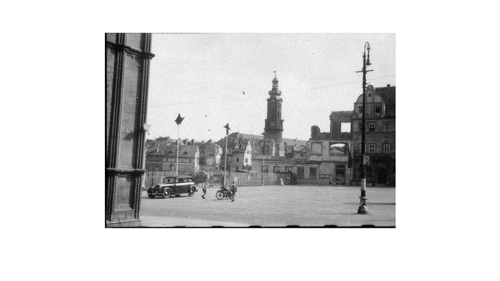 Weimar im Bombenkrieg: Tagebuch der Zerstörung