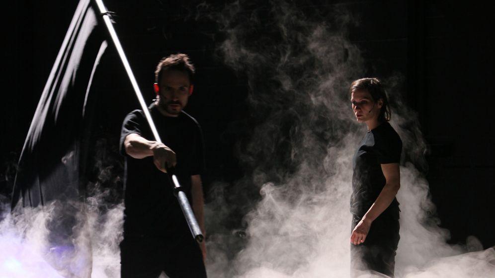 Performance in Bremen: Das Surren des Ventilators