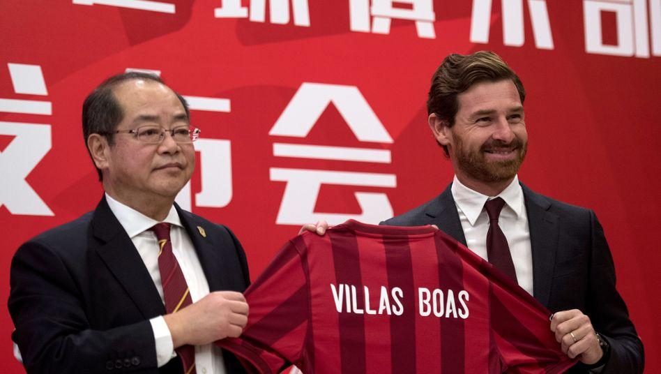 André Villas-Boas ist neuer Trainer von Shanghai Dongya