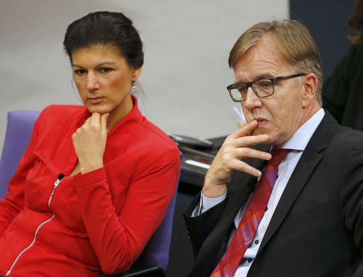 Wagenknecht, Bartsch: Neues Duo an der Spitze der Linksfraktion