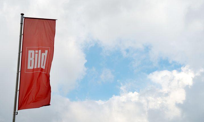"""Fahne der """"Bild""""-Zeitung"""