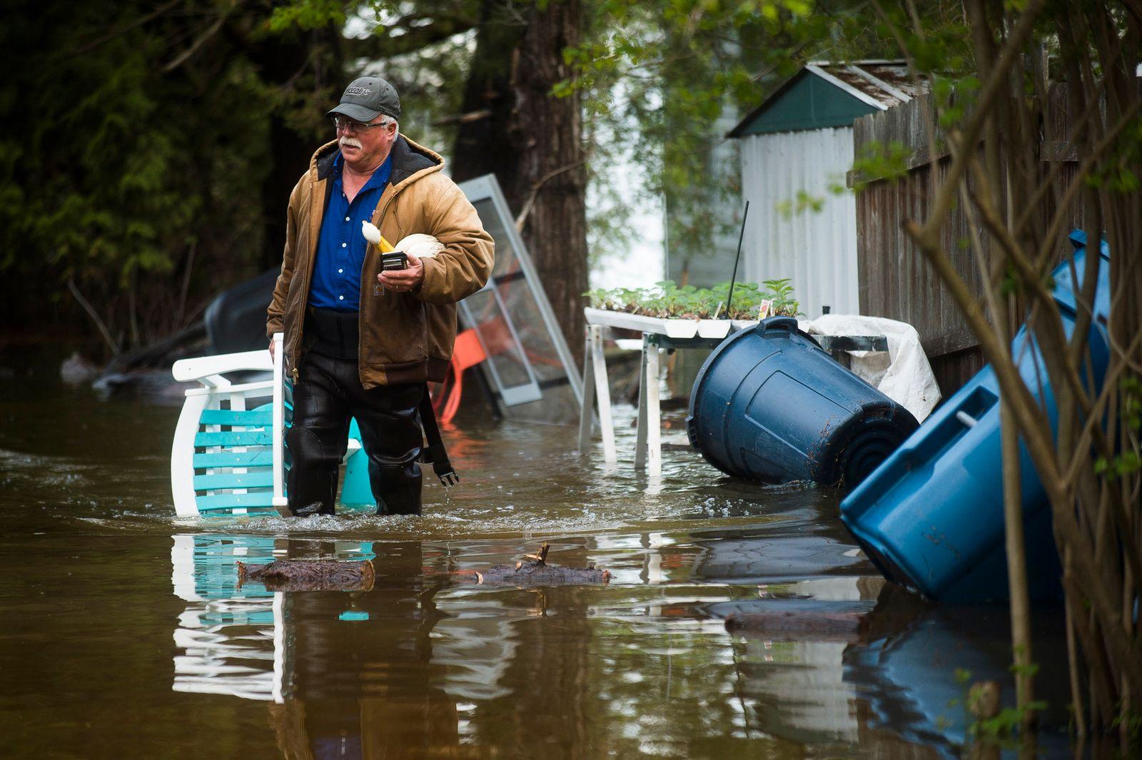 Überschwemmung in den USA