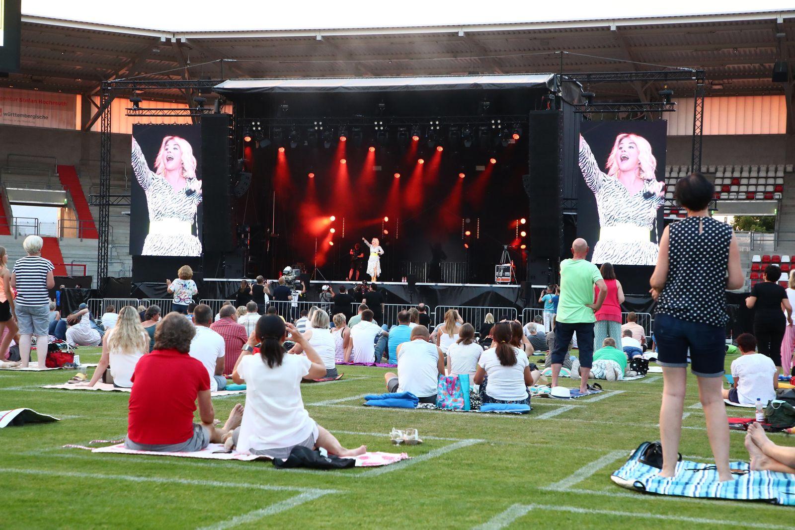 Sommer Open Air im Steigerwaldstadion