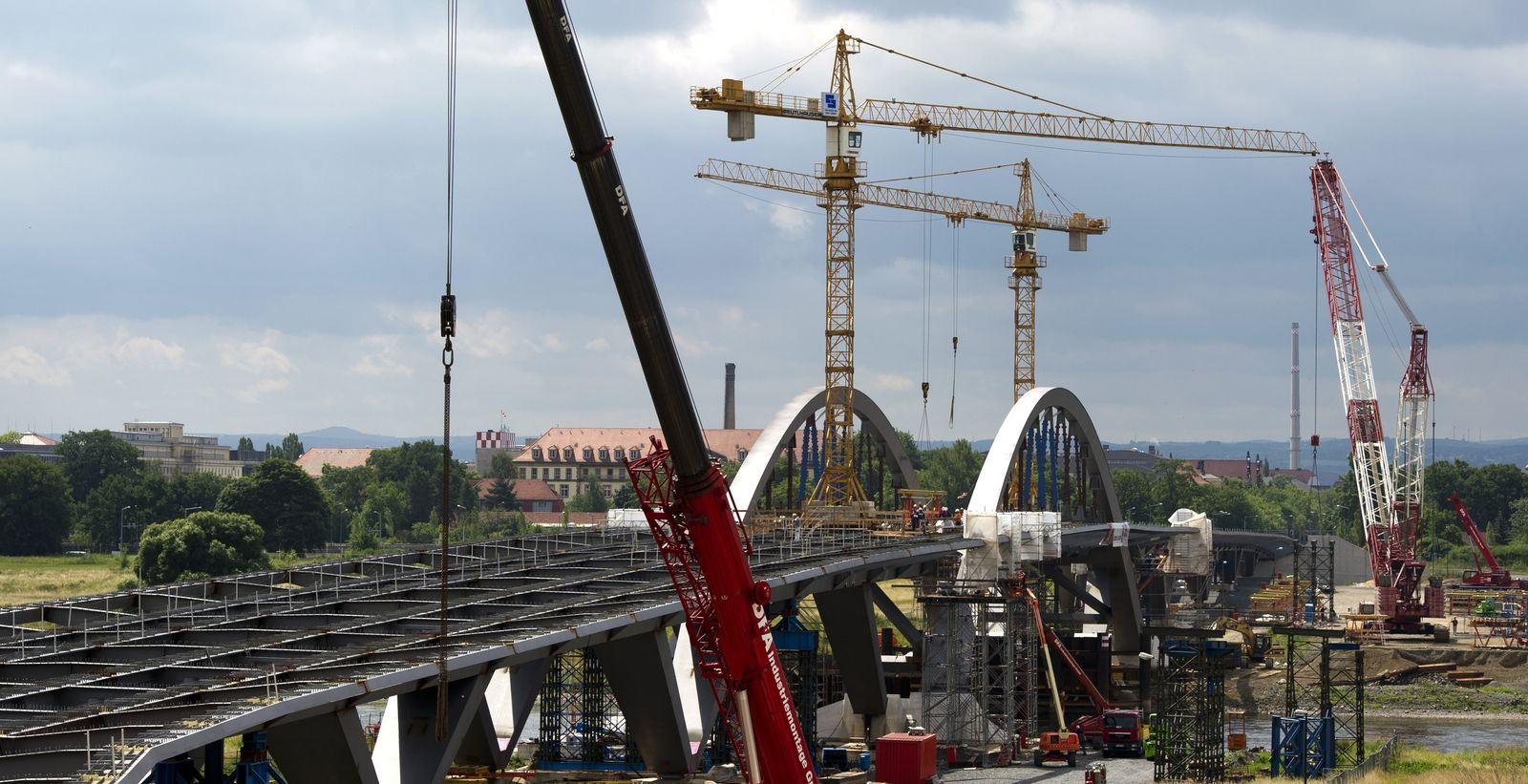 Waldschlö¿chenbrücke / Dresden