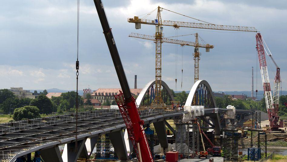 Waldschlösschenbrücke: Nur ein Arbeitstitel