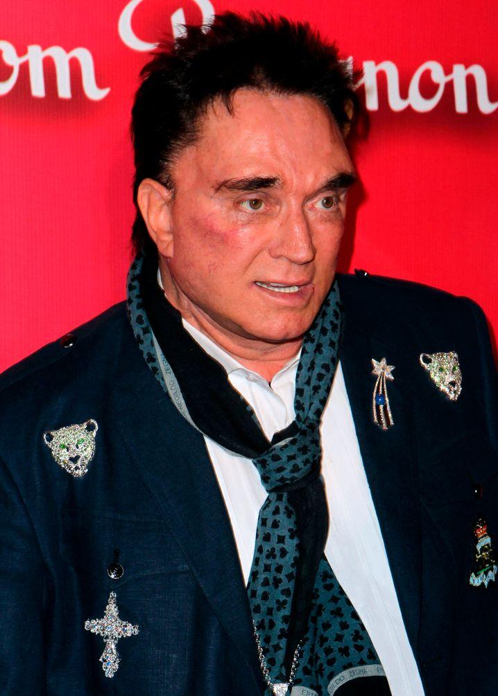 Magier Roy Horn im Februar 2012
