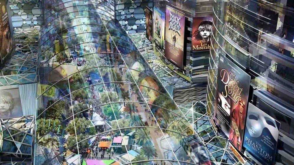 Weltgrößtes Shopping-Center: Überdimensioniertes Bauprojekt in Dubai