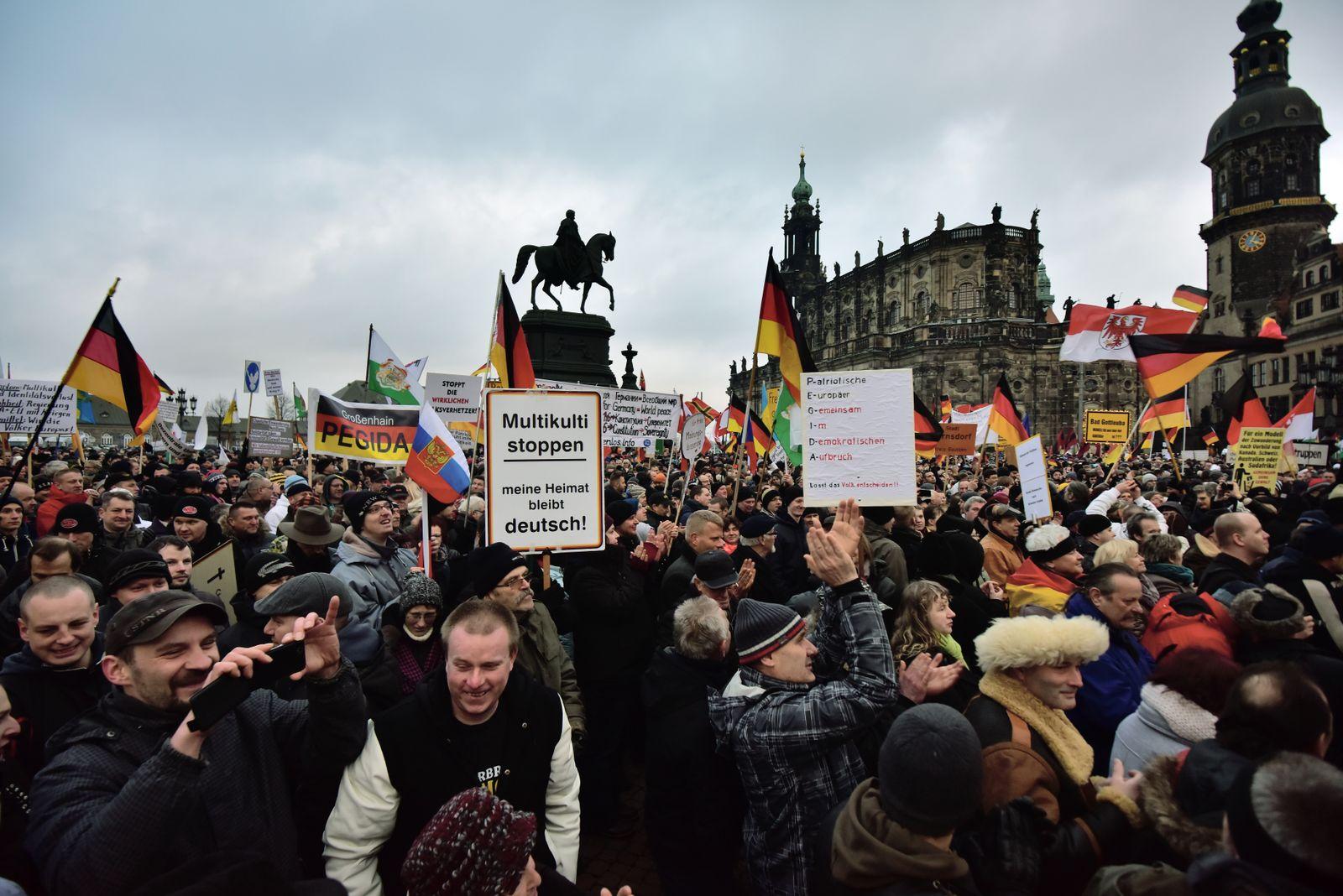 Pegida/ Dresden