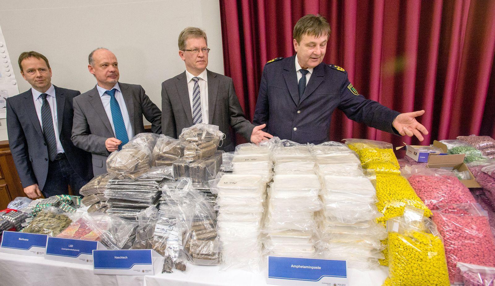Größter Drogenfund in Sachsen