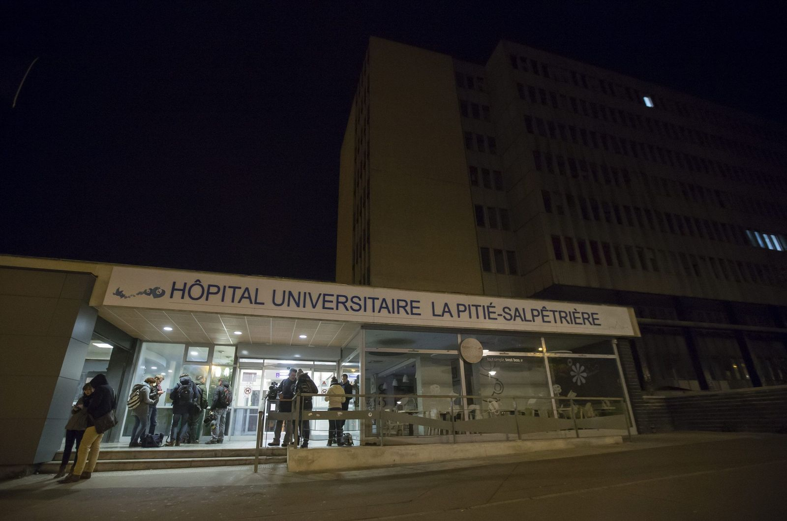Paris/ Krankenhaus/ Universite La Pitie-Salpetriere