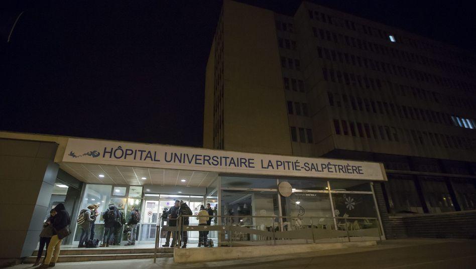 """Krankenhauses La Pitié Salpêtrière: """"Die Menschen daran hindern zu sterben"""""""