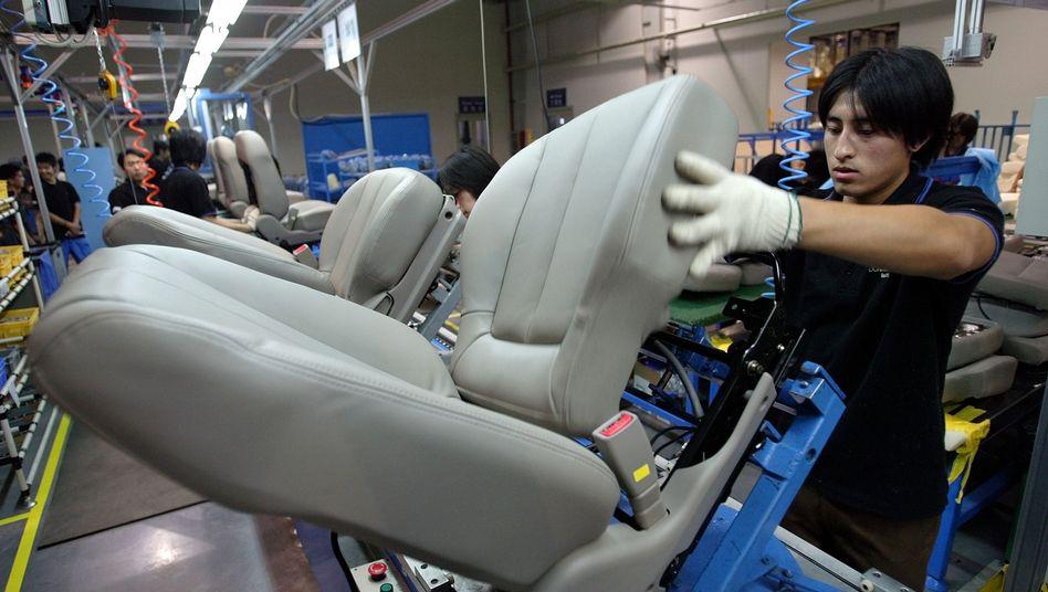 Produktion von Autositzen in China: Internationalisierung schreitet rasant voran