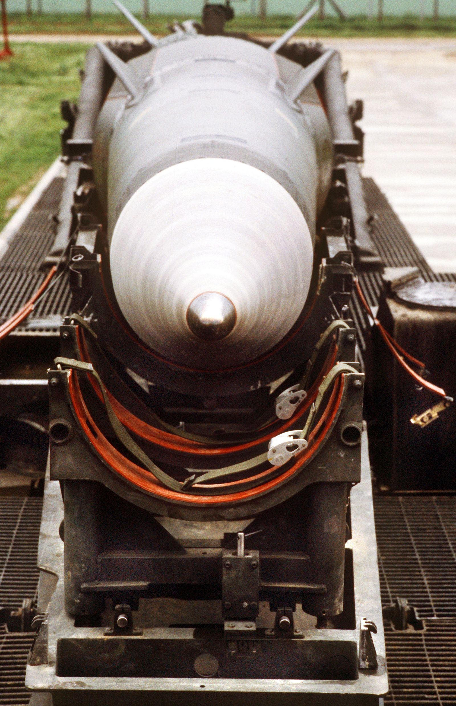 Pershing-II-Rakete / Mutlangen
