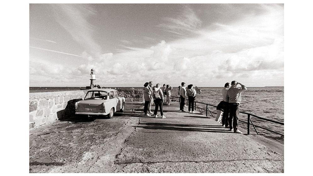 Ostseebilder aus der DDR: Sonnenbad am Todesstreifen