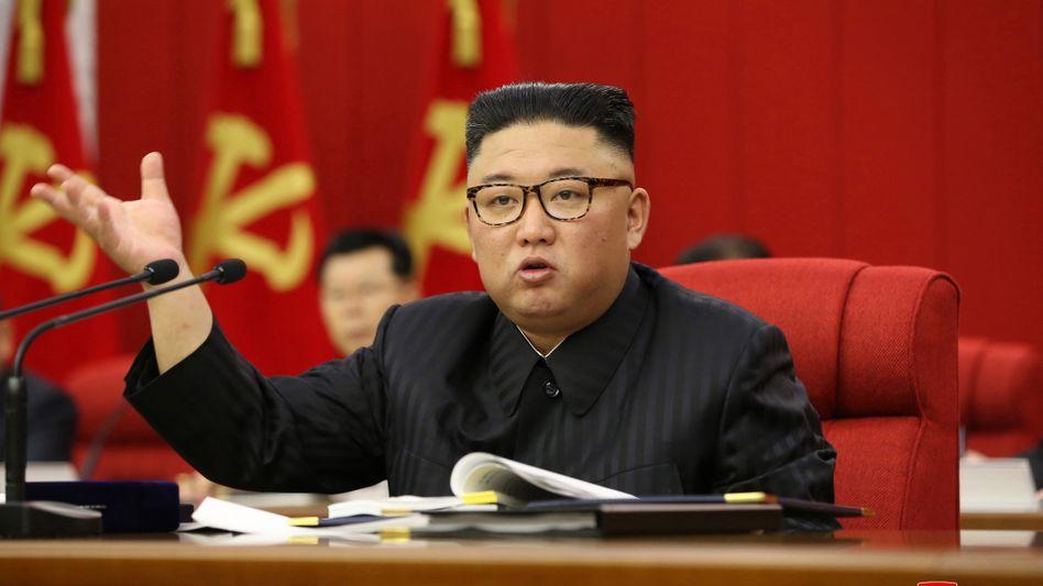 Kim Jon Un: Eine gute Ernte sei die »militante Aufgabe, die unsere Partei und der Staat mit oberster Priorität« erfüllen müsse