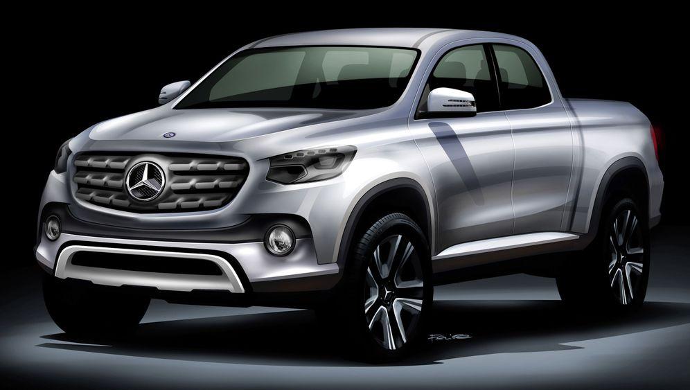 Neues Mercedes-Modell: Der Pick-up von Daimler