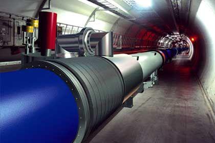 """Large Hadron Collider"" am Cern (Simulation): 27 Kilometer langer Ring"