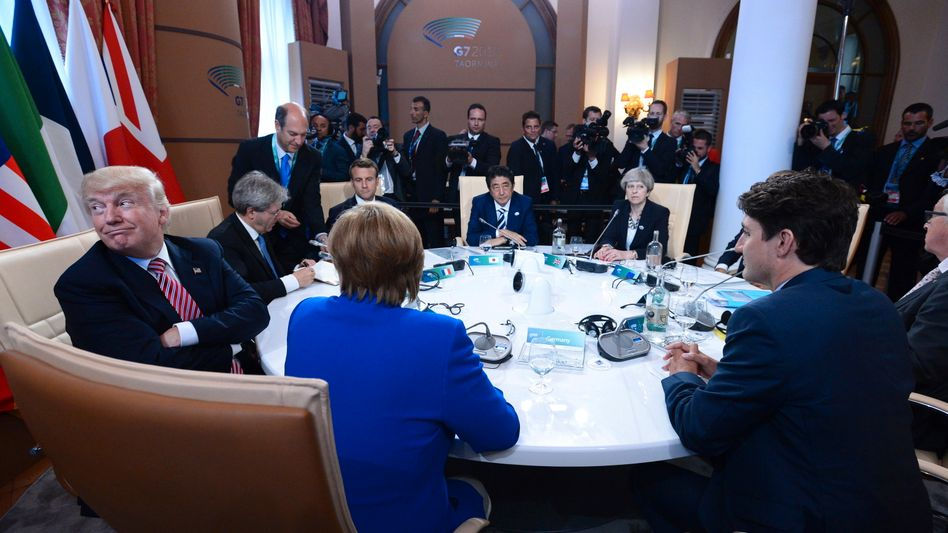 G7-Gipfel in Taormina, Sizilien